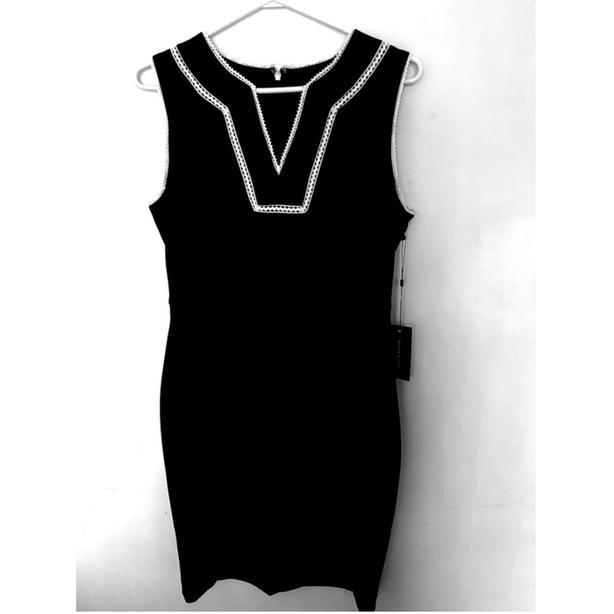 T.Hilfiger Scuba Crepe Sheath Dress 8