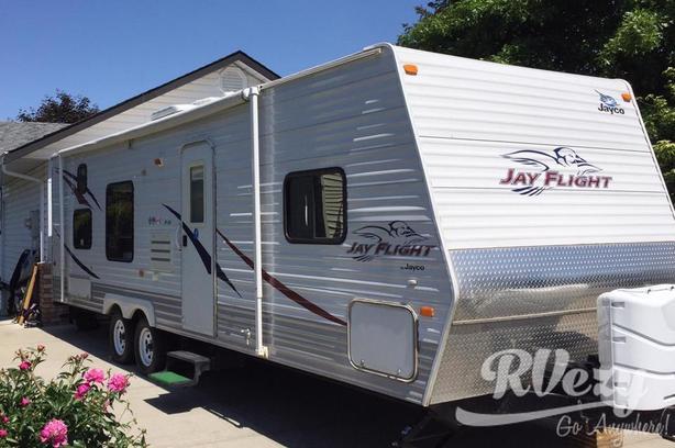 Jay Flight 28bhs (Rent  RVs, Motorhomes, Trailers & Camper vans)