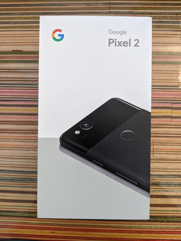 GOOGLE PIXEL 2 Unlocked 128GB // Just Black // Noir