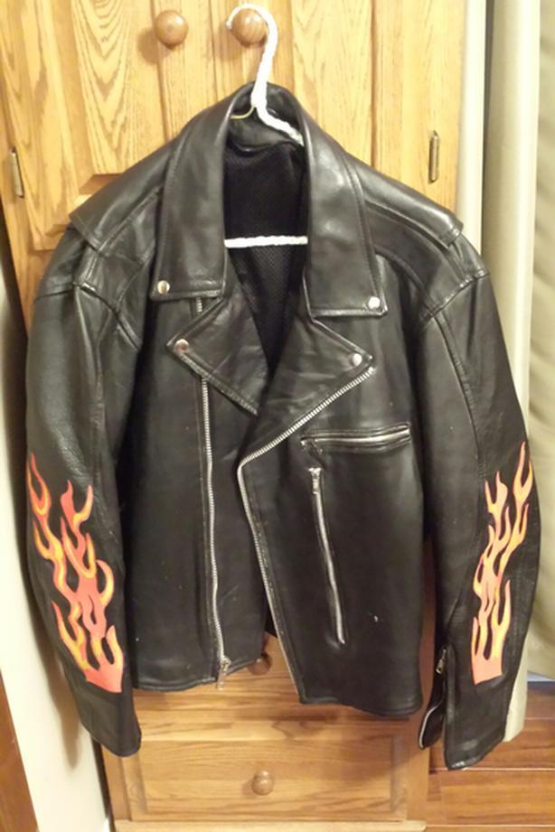 motorcycle jacket large