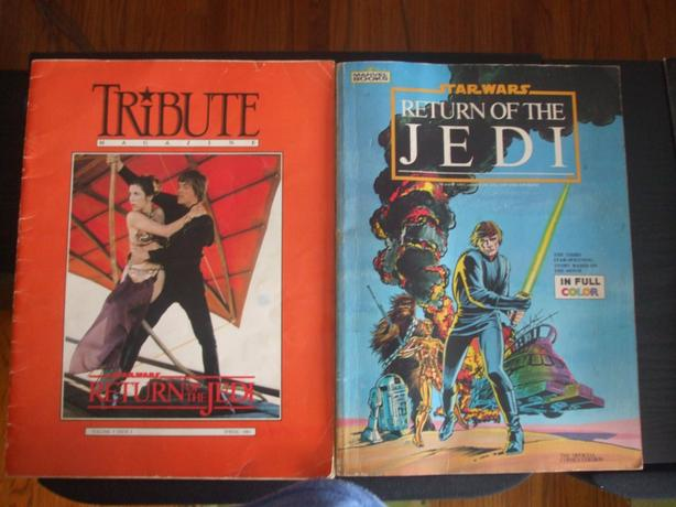 STAR WARS RETURN OF THE JEDI COLLECTABLES