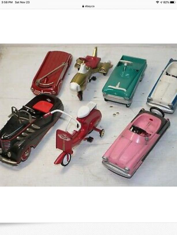 HALLMARK KIDDIE CARS