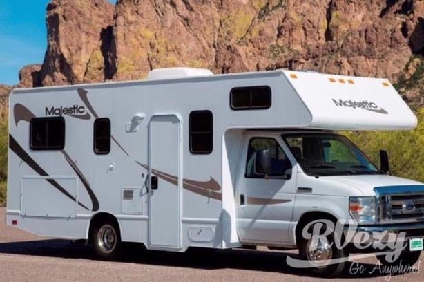 Majestic (Rent  RVs, Motorhomes, Trailers & Camper vans)