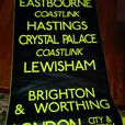 Original destination scrolls from London Buses