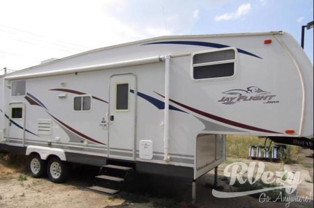 Jayflight Bunkhouse (Rent  RVs, Motorhomes, Trailers & Camper vans)