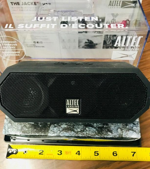 Altec Lansing Wireless Bluetooth Speaker