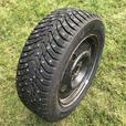 4 Nokian Hakkapeliitta 8 Studded Winter Tires + Rims