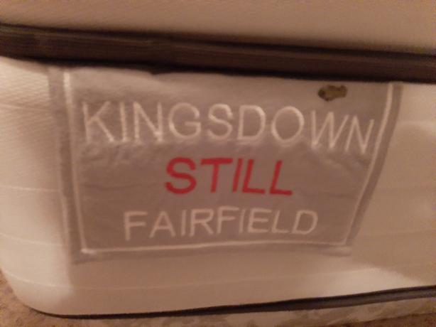 Kingsdown mattress and boxspring
