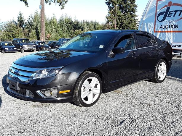 2010 Ford Fusion Sport AWD Unit Selling at Auction!