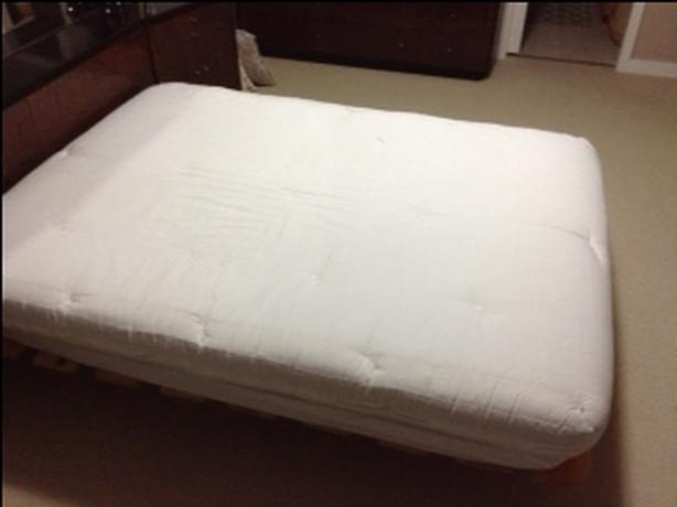 Queen Futon foam topper