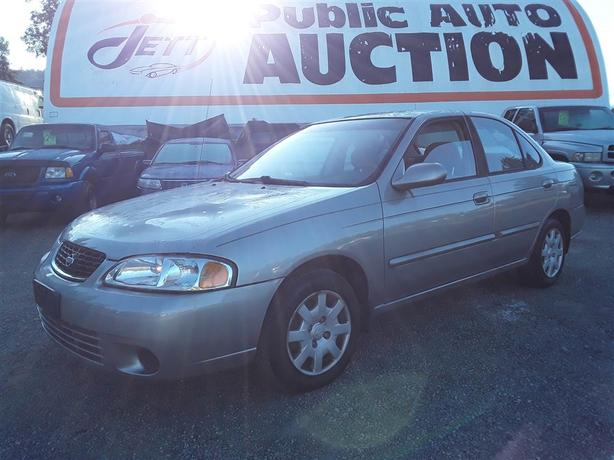 2001 Nissan Sentra Unreserved Unit with Low Km - Selling to the Highest Bid!