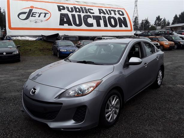 2012 Mazda 3 I Low Km Unit Selling at Auction!