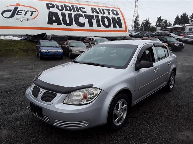 2007 Pontiac G5 2.2L 4 Cyl. Low Km Unit Selling at Auction!