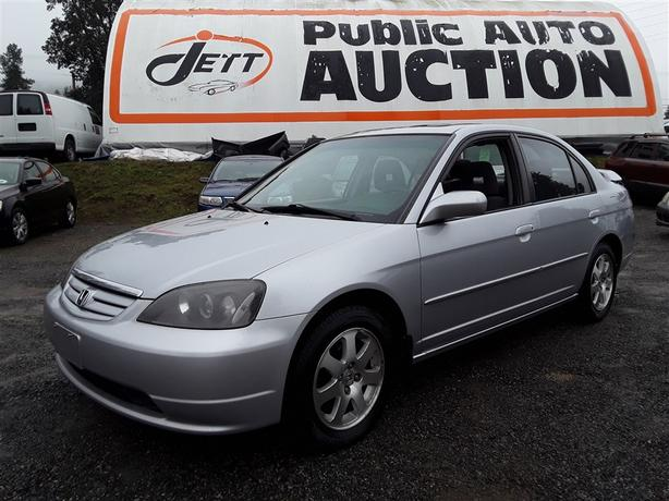 2003 Honda Civic Unreserved Unit - Selling at Auction!