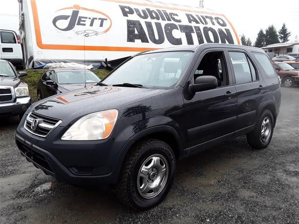 2002 Honda CR-V 2.4L 4 Cyl. AWD Unit Selling at Auction!