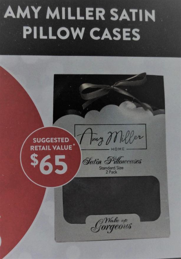 Amy Miller Satin Pillow Cases