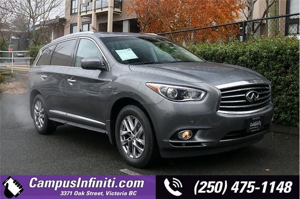 2015 Infiniti QX60 PREMIUM AWD w/ Power Lift Gate, One Owner, No Accidents