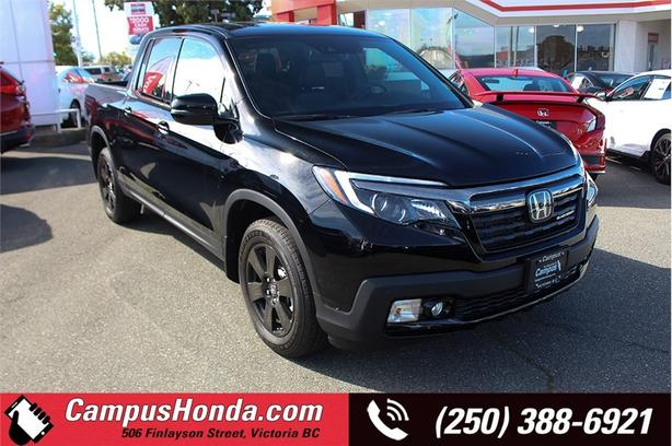 2019 Honda Ridgeline Black Edition AWD, Leather, Demo Savings! Great Va