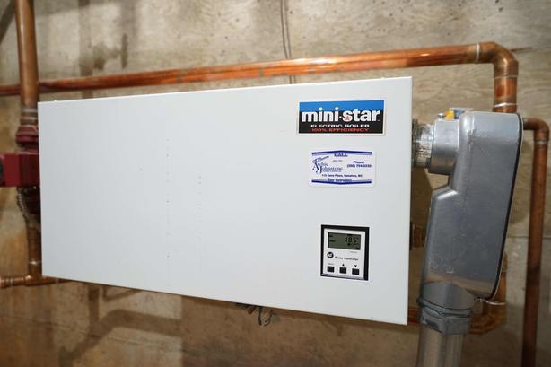 "Boiler system ""Mini star"" plus two hot water tanks"