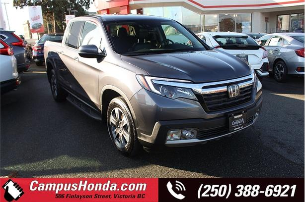 2019 Honda Ridgeline Touring AWD, One Owner, Local Vehicle, No Accident