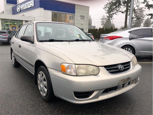 2001 Toyota Corolla Trim