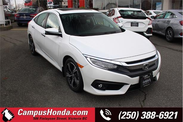 2018 Honda Civic Touring | One Owner | Local Vehicle | Serviced wit