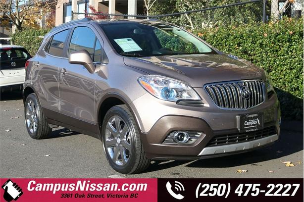 2013 Buick Encore AWD w/ Leather, Local Car, Great Fuel Economy