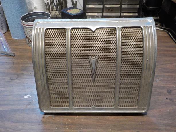 Vintage Pontiac rear seat speaker
