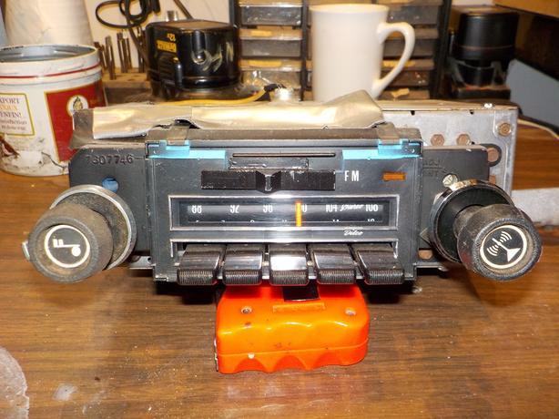 Chevelle AM/FM radio