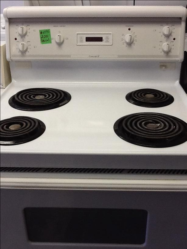 "Concept II 30"" coil top stove #6095"
