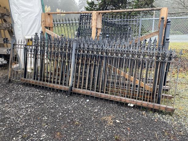 Steel Fencing/Railing Lot