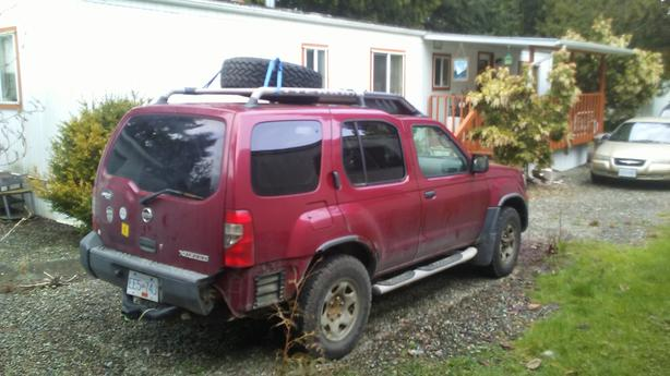Terry the Xterra needs a new home.