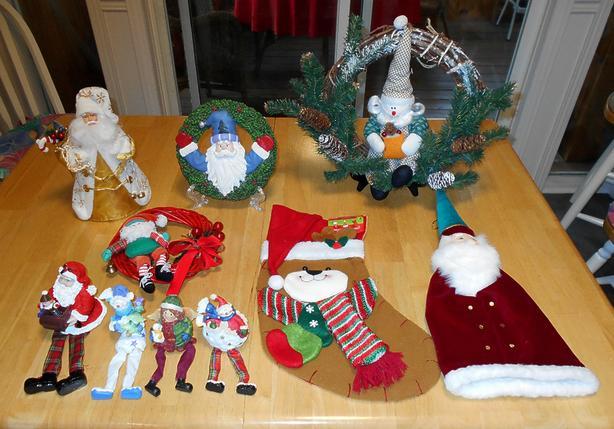 Christmas Decorations Lot