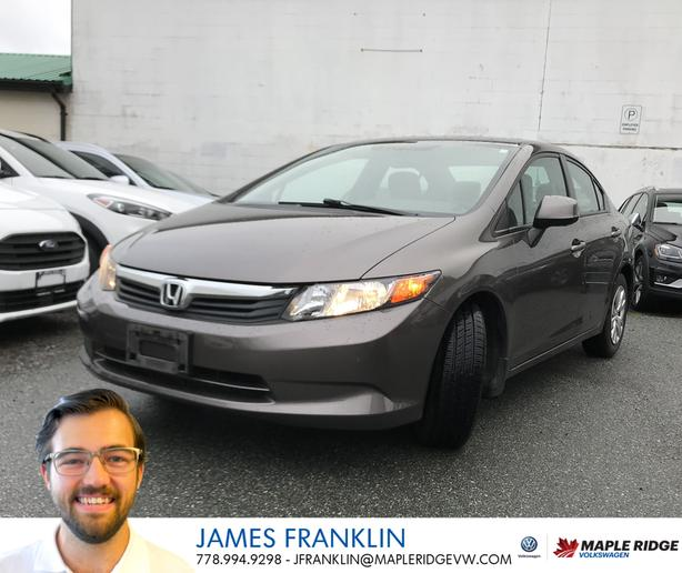 2012 Honda Civic LX - One Owner!