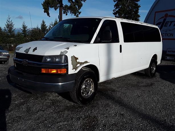 2010 Chevrolet Express G3500 LT 6.0L V8 Unit Selling at Auction!