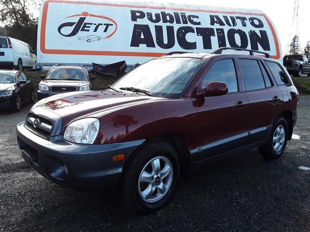 2005 Hyundai Santa Fe 2.7L V6 AWD Unit Selling at Auction!