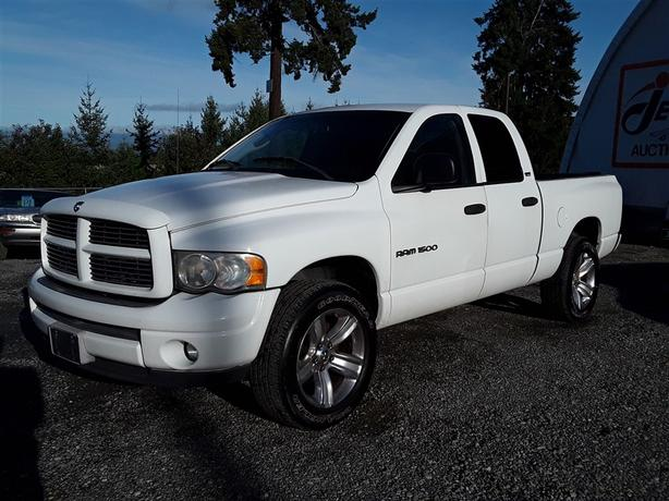 2002 Ram 1500 5.9L V8 4x4 Unit Selling at Auction!