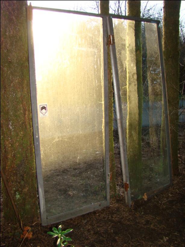 Two Glass Patio Doors