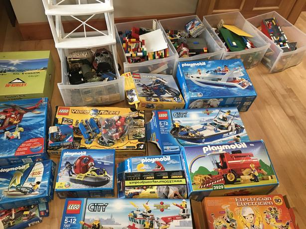 Lifetime of lego collection