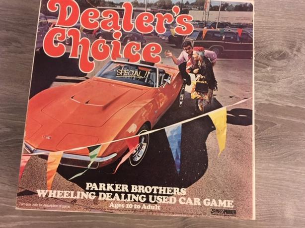 Dealer's  Choice game