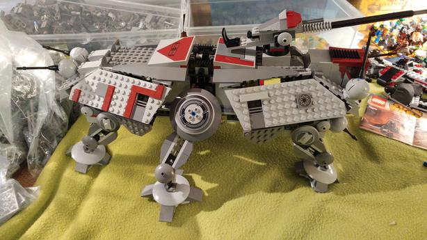 Lego Star Wars AT TE 7675
