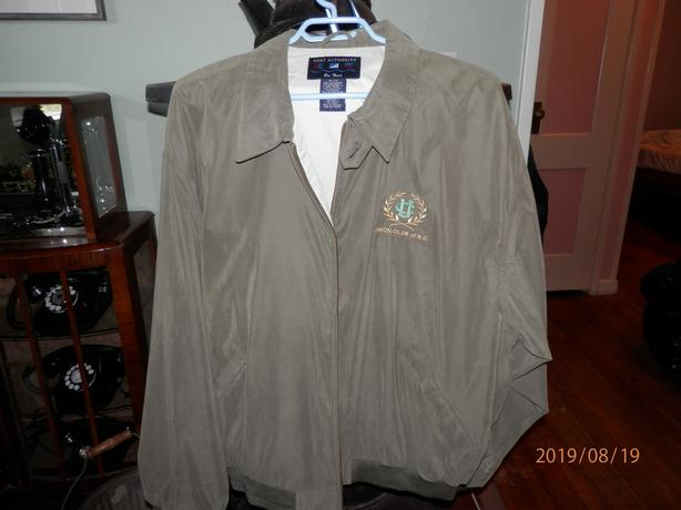Union Club of BC light jacket
