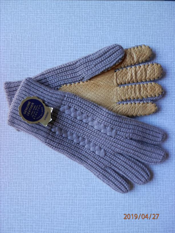 Wool/Leather Gloves by GKI