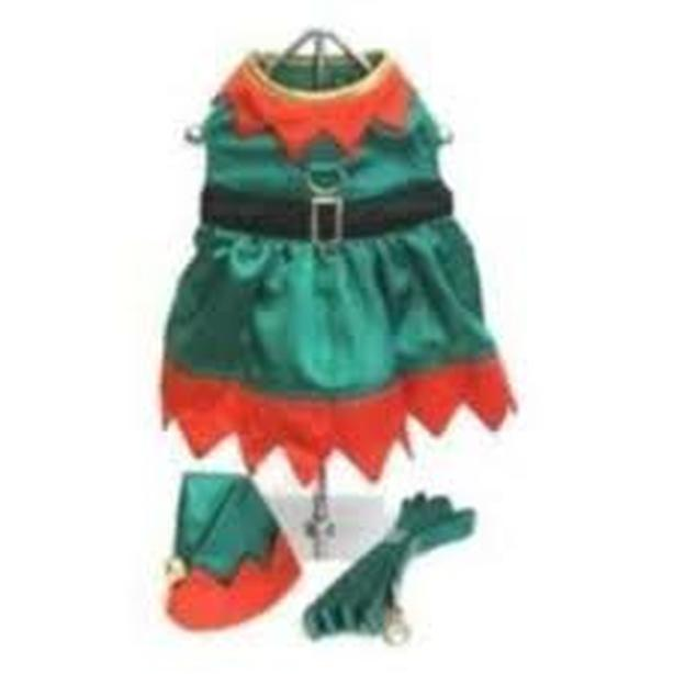 NWT - Doggie Design Elf Harness Dress