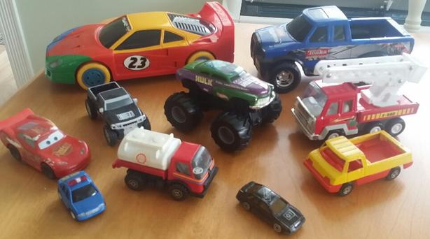 Toy Trucks - Cars