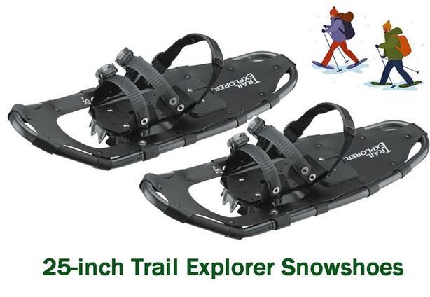 Trail Explorer Snowshoes ~ 25-inch
