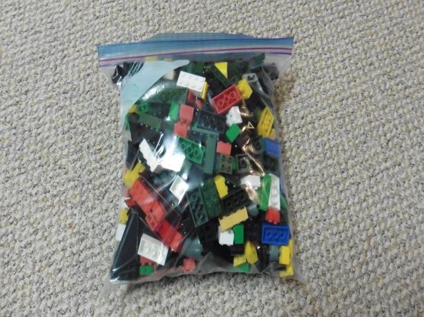 Large Ziploc bag of Mega Bloxs