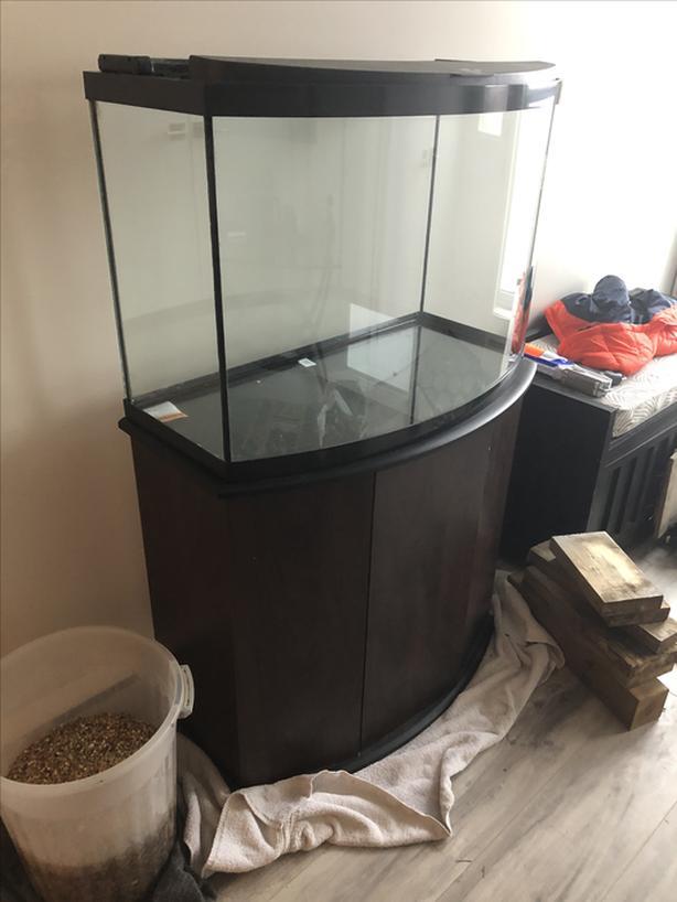 36 gallon Aquarium and Stand
