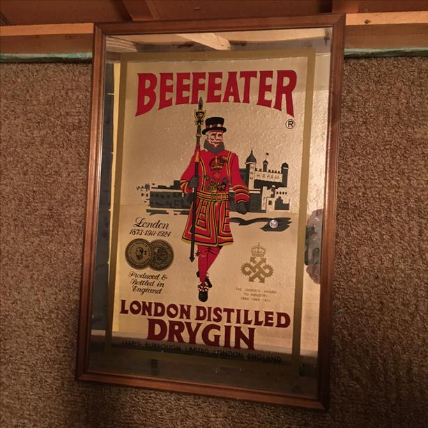 Beefeater Gin and Coke Signs - PRICE REDUCED