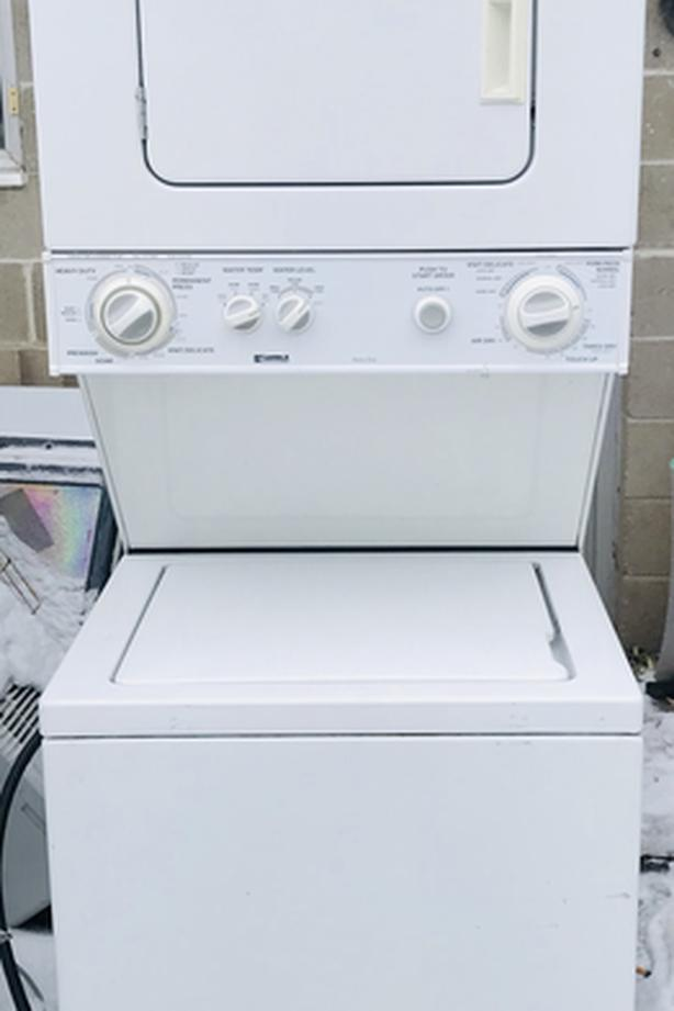 Kenmore Compact Washer/Dryer Stacker